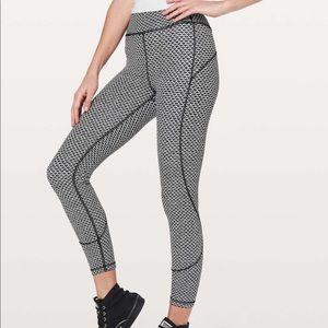 Size 4 Lululemon In Movement 7/8 leggings